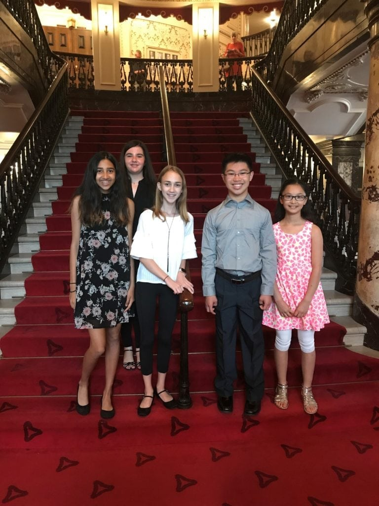 CYM students at Heinz Hall