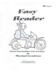 Easy Reader, First Ensembles for Guitar Vol. 1