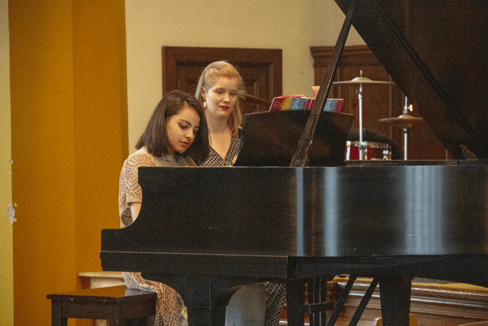 Piano Player and Grace